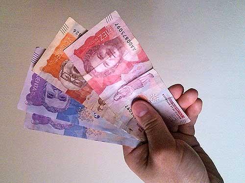 Transferencia de dineros